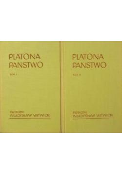 Platona Państwo 2 tomy
