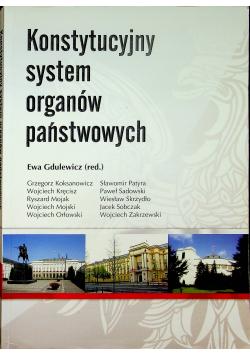 Konstytucyjny system organów państwowych