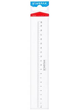 Linijka plastikowa 20cm STK