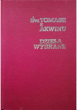 Św Tomasz z Akwinu dzieła wybrane