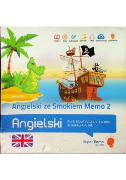 Angielski ze Smokiem Memo 2 Kurs słownictwa dla dzieci w wieku 4 6 lat