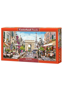Puzzle 4000 Esencja Paryża CASTOR