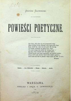 Biblioteka najcelniejszych utworów Literatury europejskiej Literatura Polska 2 tomy 1874 r.