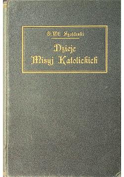 Dzieje misyi katolickich w zarysie 1927 r