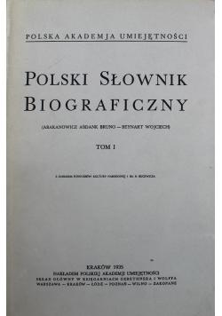 Polski Słownik Biograficzny tom I 1935 r