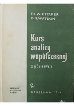 Kurs analizy współczesnej Część 1
