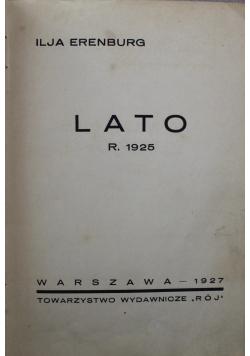 Lato 1927 r.