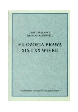 Filozofia prawa XIX i XX wieku