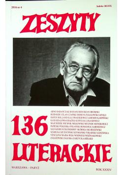 Zeszyty literackie 136