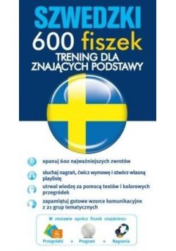 Szwedzki 600 fiszek Trening dla znających podstawy