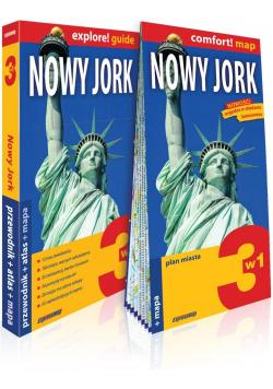 Explore! guide Nowy Jork 3w1 w.2019