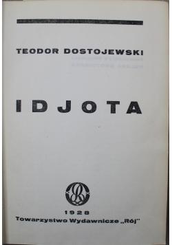 Dzieła Idjota tom od I do II 1928r