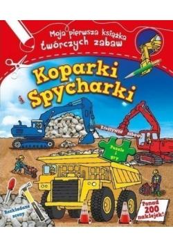 Koparki i spycharki Moja pierwsza książka
