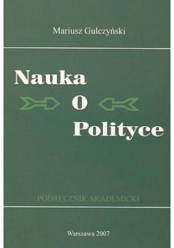 Nauka o polityce