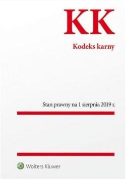 Kodeks karny Stan prawny 1.08.2019 r.