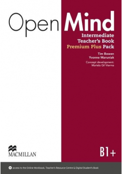 Open Mind Intermediate B1+ TB + online MACMILLAN