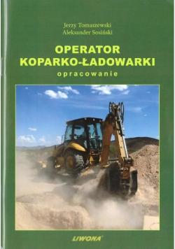 Operator koparko-ładowarki. Opracowanie w.2019