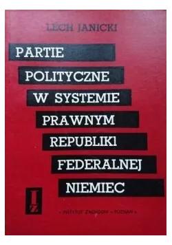 Partie polityczne w systemie prawnym republiki federalnej Niemiec