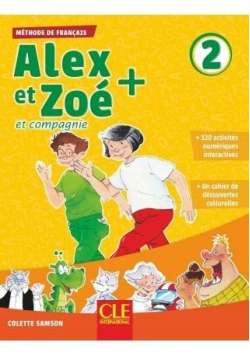 Alex et Zoe plus 2 podręcznik + CD MP3