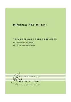 Trzy preludia na fortepian