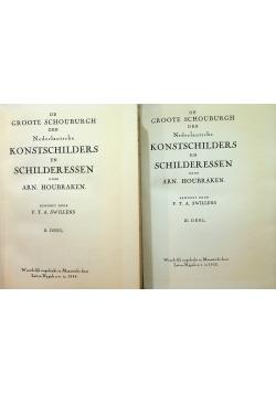 Konstschilders en Schilderessen Część II i III ok 1953 r