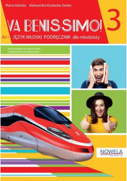 Va Benissimo! 3 A2+  podręcznik