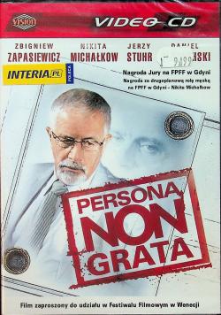 Persona non grata Płyta DVD NOWA