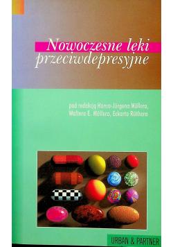 Nowoczesne leki przeciwdepresyjne