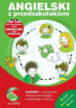 Angielski z przedszkolakiem Pakiet książki + 4 CD