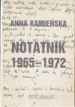 Notatnik 1965 - 1979