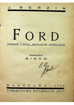 Ford 1928 r.