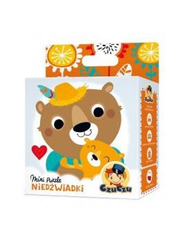 Mini puzzle Niedźwiadki