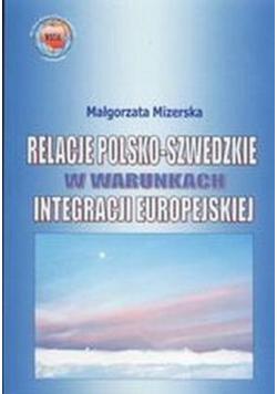 Relacje polsko szwedzkie w warunkach integracji europejskiej