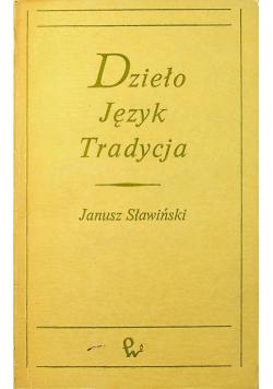 Dzieło Język Tradycja