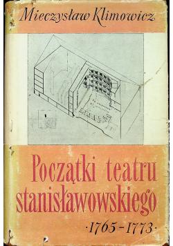 Początki teatru stanisławowskiego