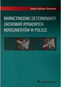 Marketingowe determinanty zachowań rynkowych
