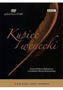 Kupiec wenecki + płyta  DVD Nowa