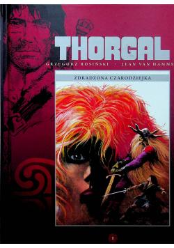Thorgal Zdradzona czarodziejka Tom 1
