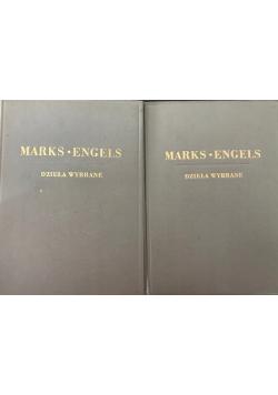 Marks Engels dzieła wybrane 1949r