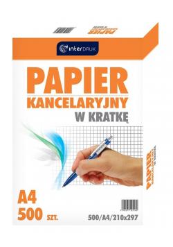 Papier kancelaryjny A4/500K kratka