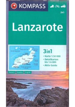 Lanzarote 1:50 000 Kompass