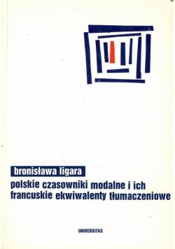 Polskie czasowniki modalne i ich francuskie ekwiwalenty tłumaczeniowe