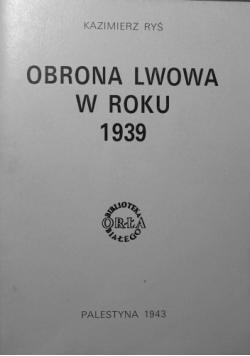 Obrona Lwowa w roku 1939