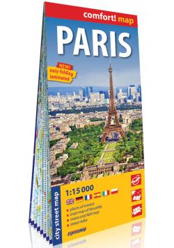 Paryż laminowany plan miasta 1:15 000