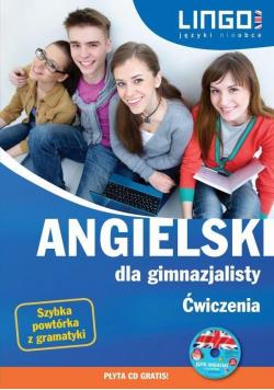 Angielski dla gimnazjalisty  Ćwiczenia plus płyta CD