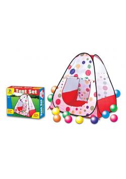 Namiot z piłeczkami