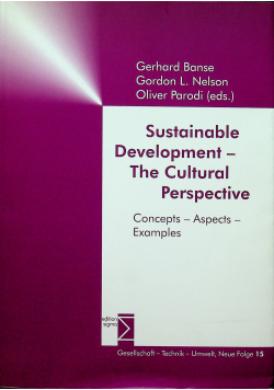 Sustainable Develpment The Cultural Perspective