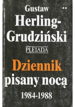 Dziennik pisany nocą 1984 1988