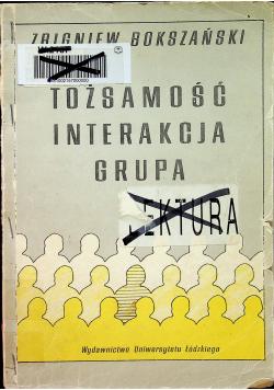 Tożsamość interakcja grupa