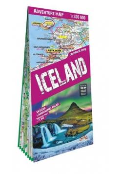 Advanture map Islandia/Iceland 1:500 000